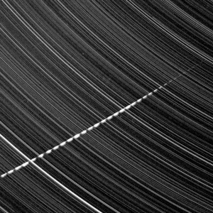 Star trails meteorite