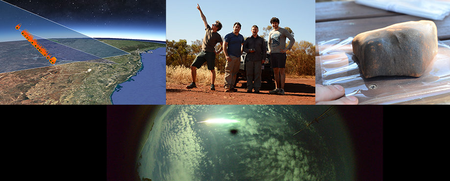DFN did it again! Curtin fireball chasers and citizen science recover meteorite from WA farm