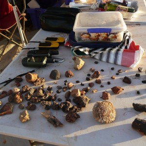 All the meteor-wrongs - finding a rock on a rocky plain is harder than you might think!