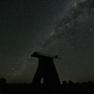 The evening view at SA camera Gum Glen