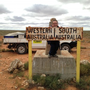 Katie's makes it to the WA/SA border