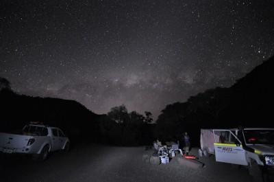 campsite in the Flinders ranges