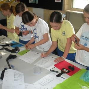 Dissecting meteorites