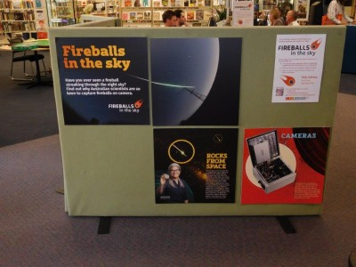 The exhibit at Onkaparinga library in South Australia