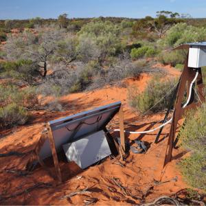 One of the 32 Desert Fireball Network cameras