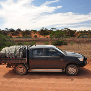 Our new Fireballs ute has definitely run up the kilometers now!