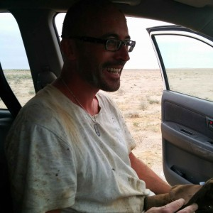 Keeping smiling through the mud