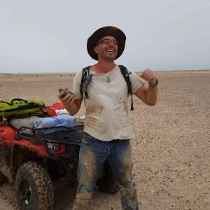 The joy of finding the meteorite