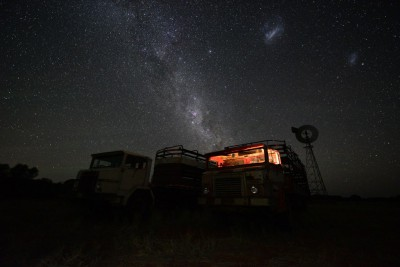 The Milky Way and the Magellanic Clouds