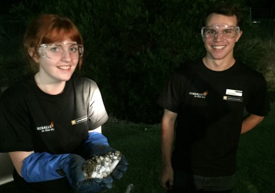 Dry Ice Comet with Tayla, Keegan