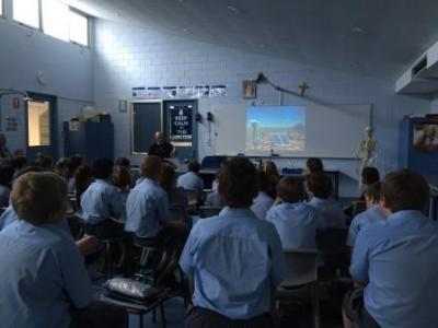 Professor Phil Bland describes the DFN cameras at St Joseph's School