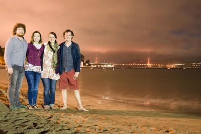 Rob, Lucy, Ellie, Luke