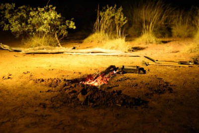 Campfires on field trips - definitely something to look forward to at the end of the day